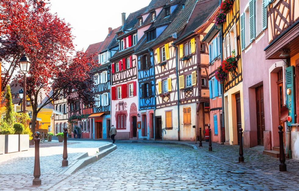 Elsaß-immobilien wie man sie kennt. Hier stehen die Fachwerkhäuser in Colmar. (#1)