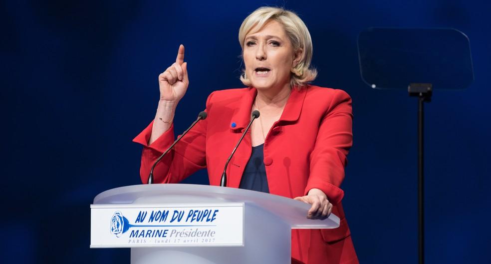 In der Zeit als Marine Le Pen Oberwasser hatte, stand es um die Wirtschaftsentwicklung in Frankreich gar nicht so gut. (#2)