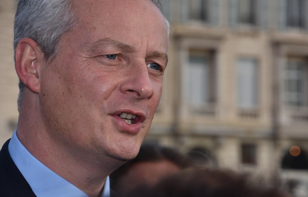"""Für Frankreichs Wirtschaftsminister Bruno Le Maire steht die Wirtschaftsentwicklung in Frankreich immer noch """"Am Anfang"""". (#1)"""