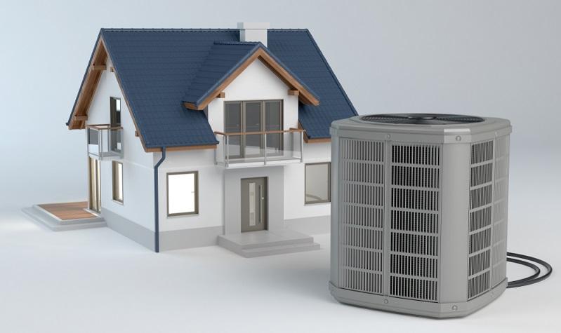 Da es in der EnEV 2009 verankert ist, dass Neubauten einen möglichst geringen Energieaufwand anstreben sollten, ist die Wärmepumpe eine besonders innovative Lösung.  ( Foto: Shutterstock- _Studio Harmony )