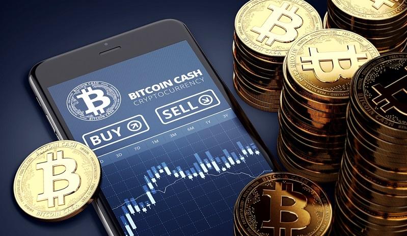 Über Onlinedepots erfolgen Erwerb und Verkauf der Kryptowährungen, die sich als sehr volatil darstellen. Das Investment in diese Anlageklassen wird als hoch risikoreich bezeichnet.  ( Foto: Shutterstock-Wit Olszewski  )